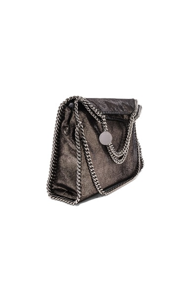 Stella McCartney Falabella Small Fold-Over Tote in Black