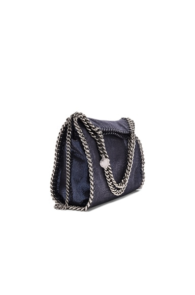 Stella McCartney Falabella Mini Fold-Over Tote in Navy