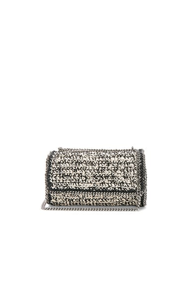 Falabella Crochet Shoulder Bag