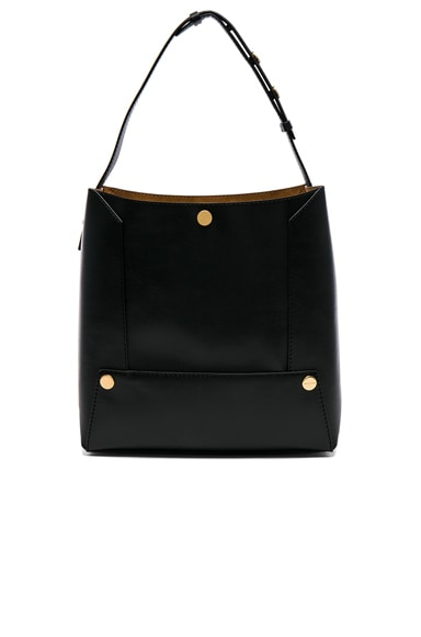 Textured Eco Alter Nappa Small Bucket Bag