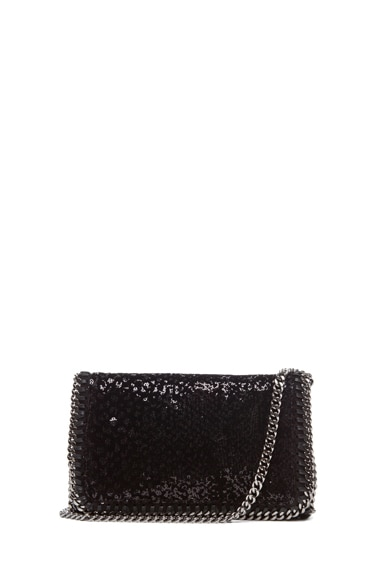 Velvet Paillettes Clutch