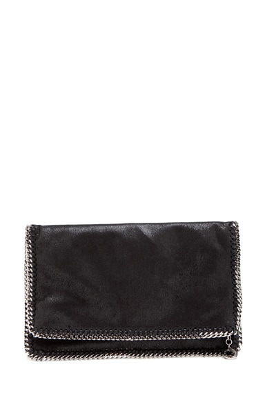 Shaggy Deer Falabella Fold Over Clutch