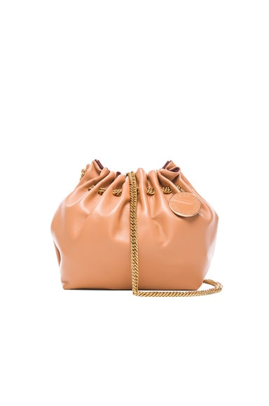 Stella McCartney Noma Bucket Bag in Camel