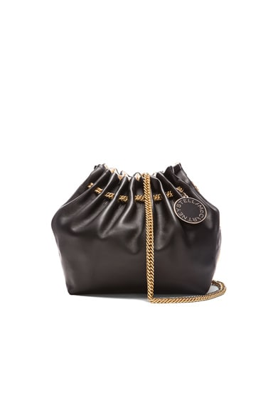 Stella McCartney Noma Bucket Bag in Black