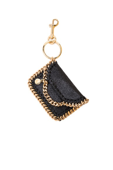 Stella McCartney Falabella Keychain in Black