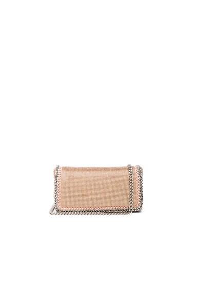 Stella McCartney Crystal Crossbody Bag in Powder