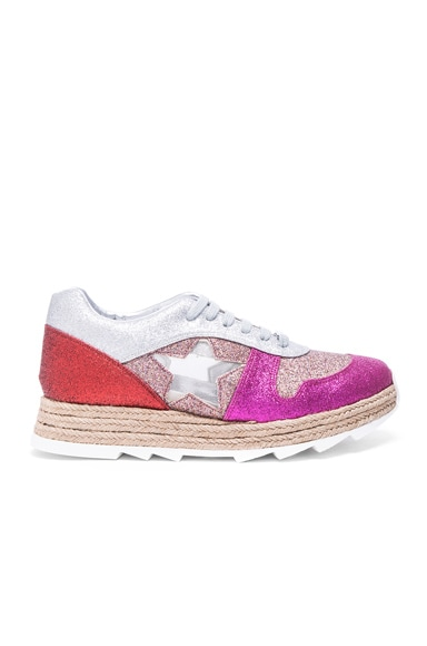 Stella McCartney Macy Lace Up Sneakers in Multi