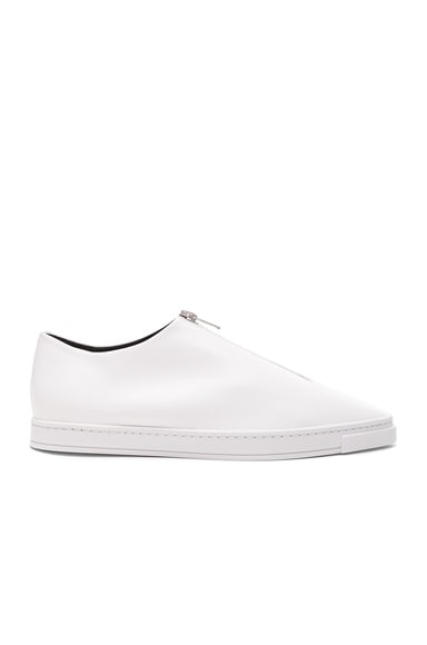 Stella McCartney Zip Loafers in White