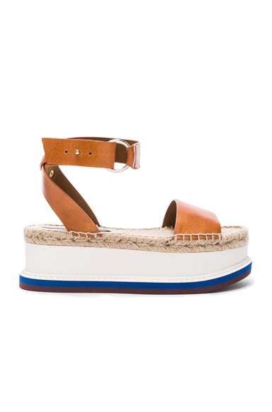 Stella McCartney Platform Sandals in Canyon