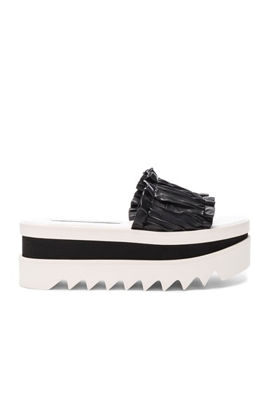 Stella McCartney Slide Platforms in Black