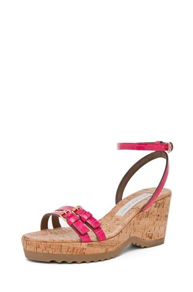 Croc Print Sandal