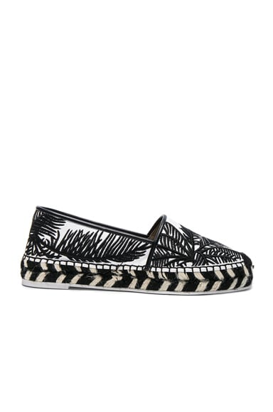 Palm Print Espadrilles Stella McCartney