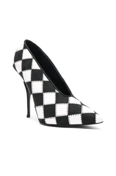 Checkered Print Heels