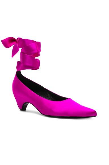 Ankle Tie Keel Heels