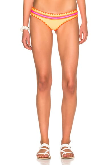 Same Swim Everything Bikini Bottom in Orange Sherbet