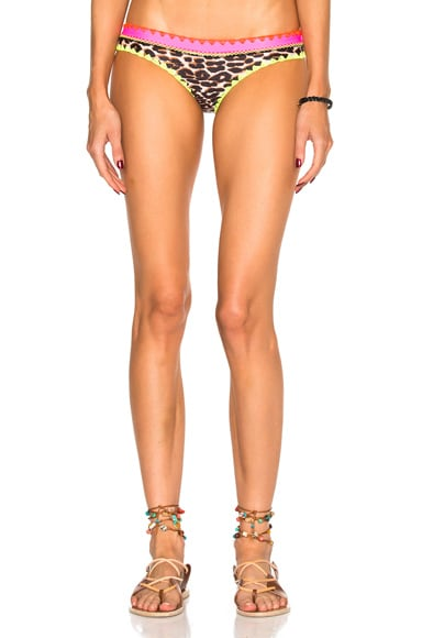 Same Swim Everything Bikini Bottom in Electric Cheetah