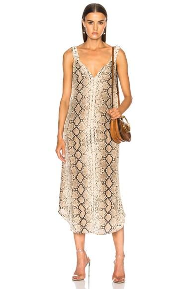 Elastic Slip Dress