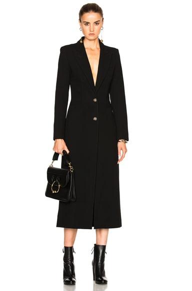 Smythe Brando Coat in Black