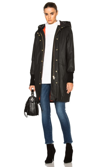Smythe Dark & Stormy Anorak in Black