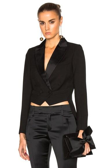 Smythe Mini Tails Blazer in Black