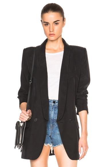 Smythe Oversized Blazer in Black
