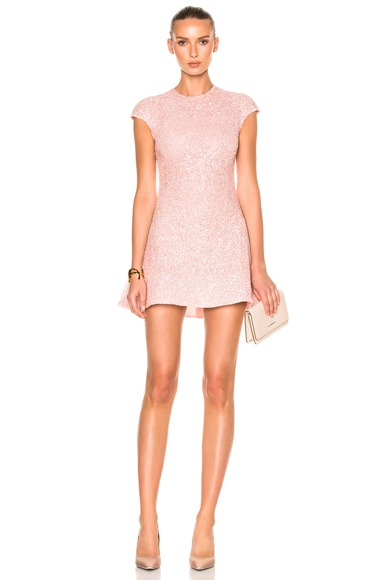 Sandra Mansour Eclat Dress in Pink