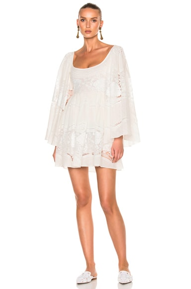 Sandra Mansour Nuit Dress in Ivory