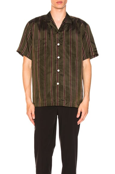 Camp Collar Short Sleeve Shirt