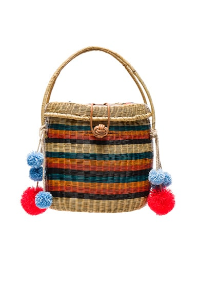 Sophie Anderson Cinto Bag in Stripe Multi