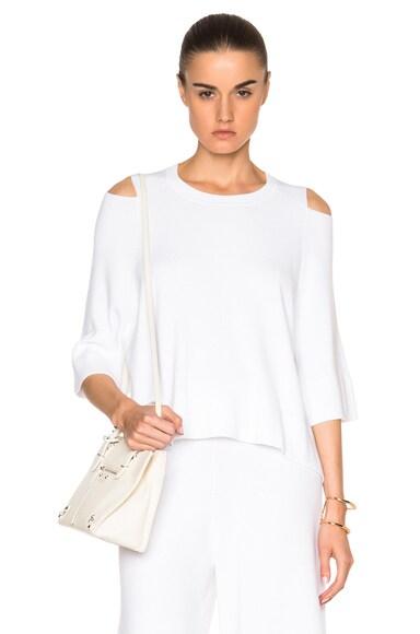 Soyer Summer Sweater in White