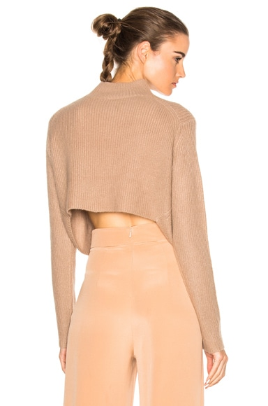 Soyer Crop Sweater in Faune