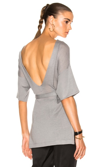 Low Back Tunic Top