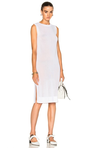 Soyer Sleeveless Tunic Top in White