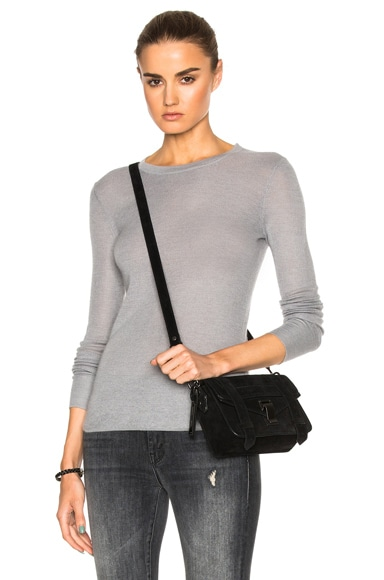 Soyer Cashmere Thermal Top in Lead