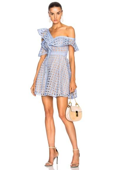 Lace Frill Dress