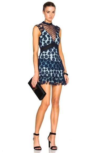 60s Overlay Mini Dress
