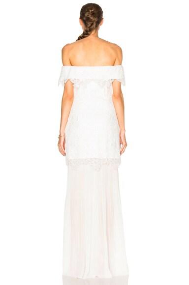 Off Shoulder Bridal Dress