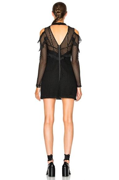 Purl Knit Combi Dress