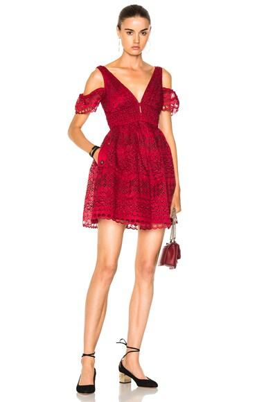Sheared Mini Dress