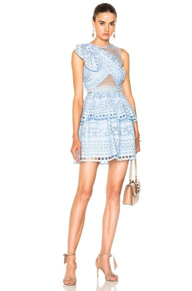 Shoulder Knot Mini Dress