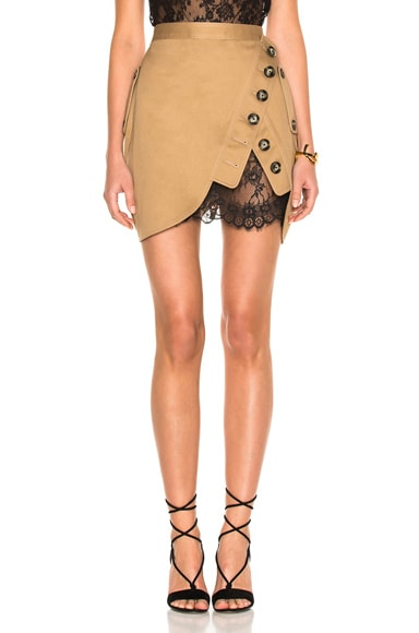 Trench Mini Skirt