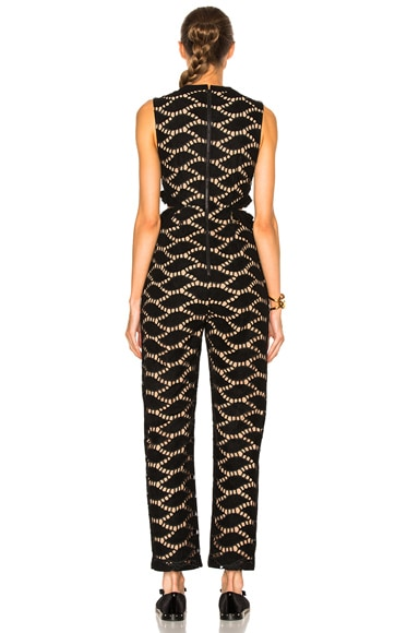 Cutwork Embroidered Jumpsuit