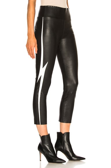 Capri Legging With Lightening Bolt