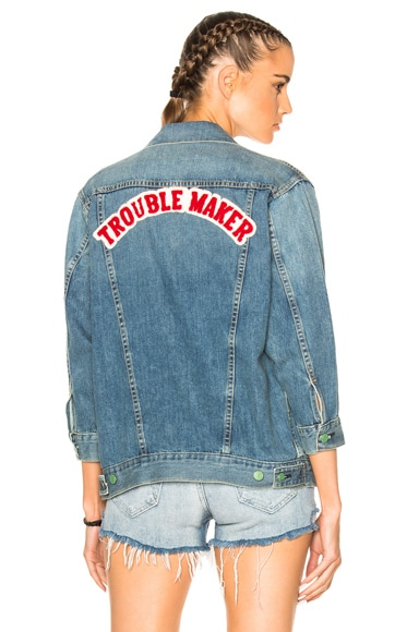 Sandrine Rose The Trouble Denim Jacket in Georgie