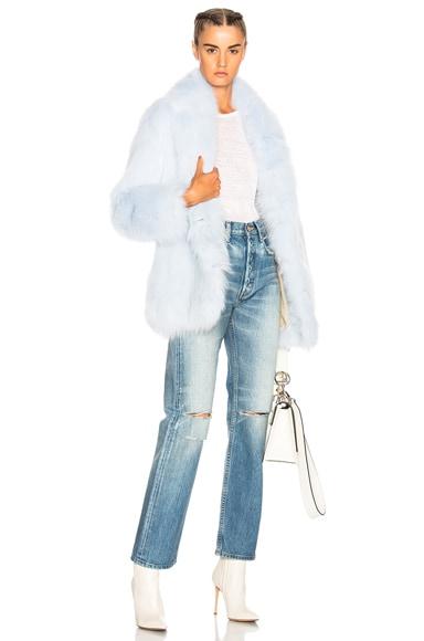 Nevis Fox Fur Coat