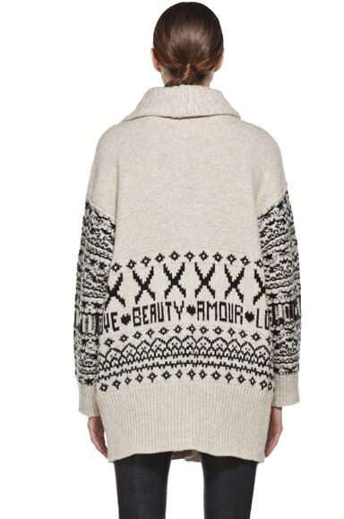 Shawl Cardigan Sweater