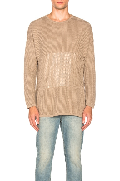 Stampd Terrain Long Sleeve Sweater in Angora