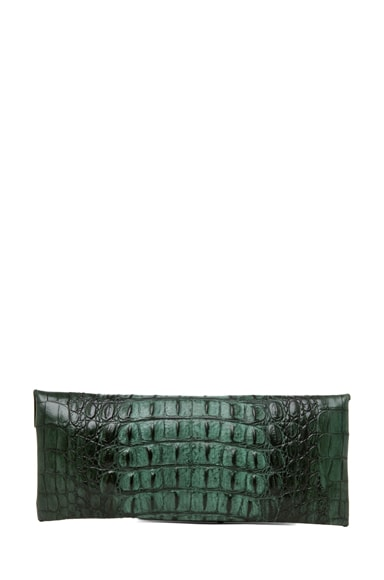 Knotted Croc Clutch