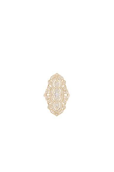 Stone Paris Tess Ring in Yellow Gold