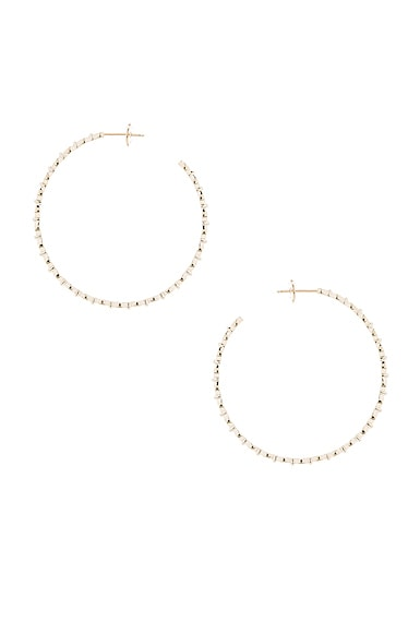 Yasmine Hoop Earrings